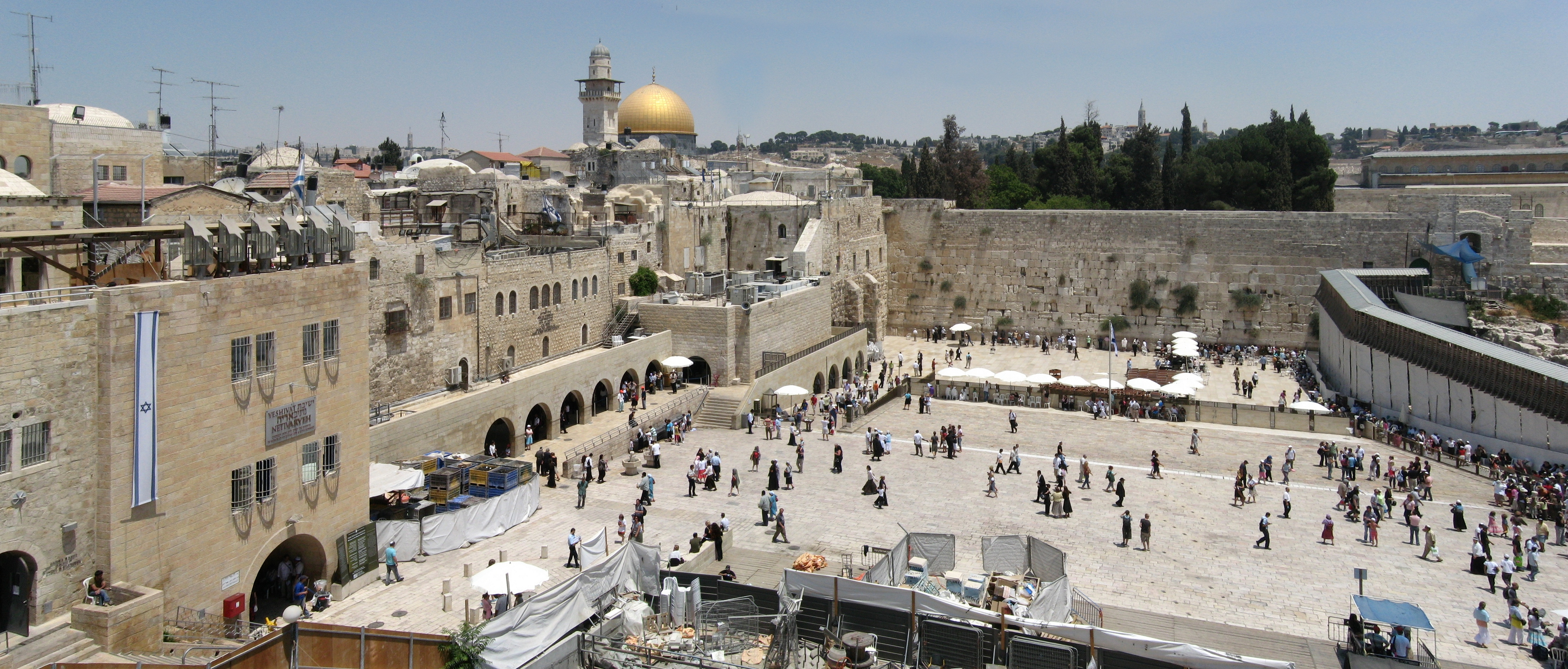the Western Wall, Jerusalem, israel tour package from Bangalore, India