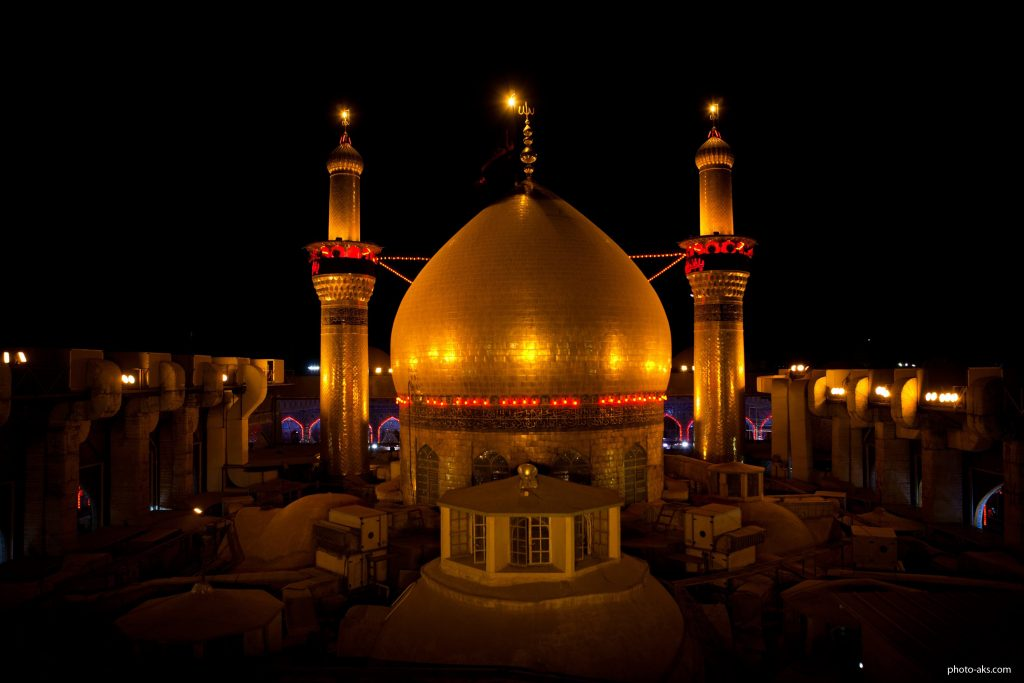 Imam Hussein holly shrine< in Karbala, Iraq tour package from Bangalore, india