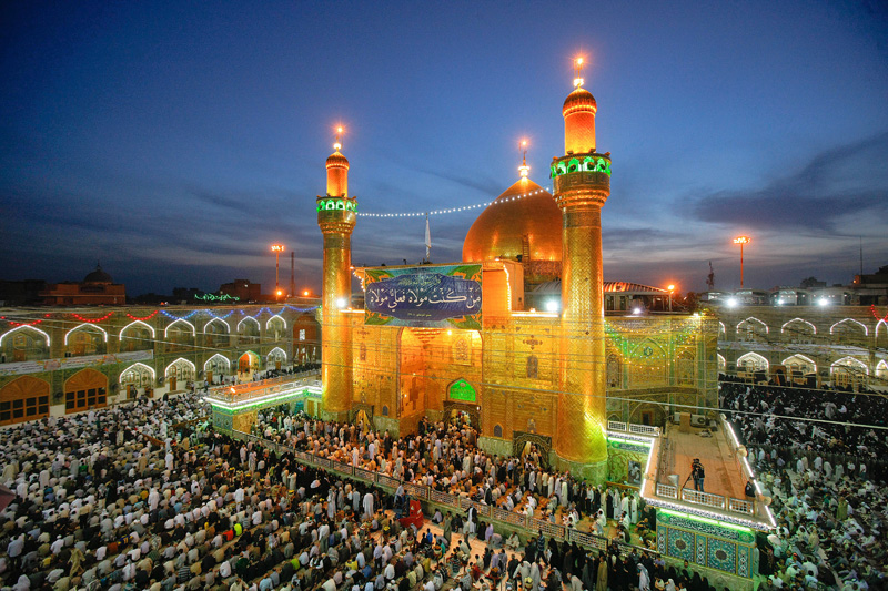 Imam Ali Holy Shrine in Najaf, Iraq Ziyarat tour packages from Bangalore, India