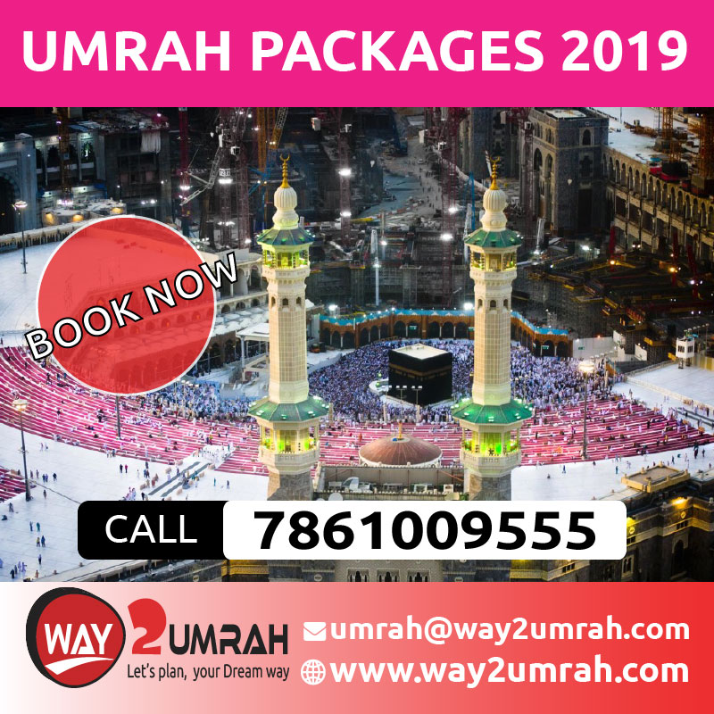 Delux Umrah Packages and prices 2019 in Bangalore, Mumbai, India
